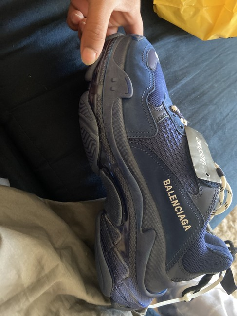 Item - Blue Triple S Sneakers Size EU 40 (Approx. US 10) Wide (C, D)