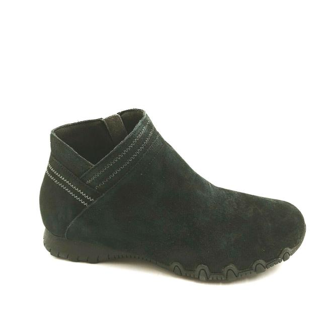 Item - Black Womens Bikers Mc Intersection Ankle Zip Leat Boots/Booties Size US 8 Wide (C, D)