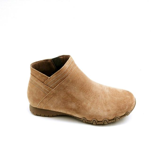 Item - Brown Womens Bikers Mc Intersection Leather Ankle Mushroom 6. Boots/Booties Size US 6.5 Wide (C, D)