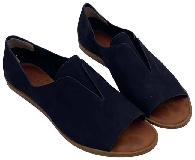 Item - Black Cassidee Open Toe Flat Sandals Size US 8.5 Regular (M, B)