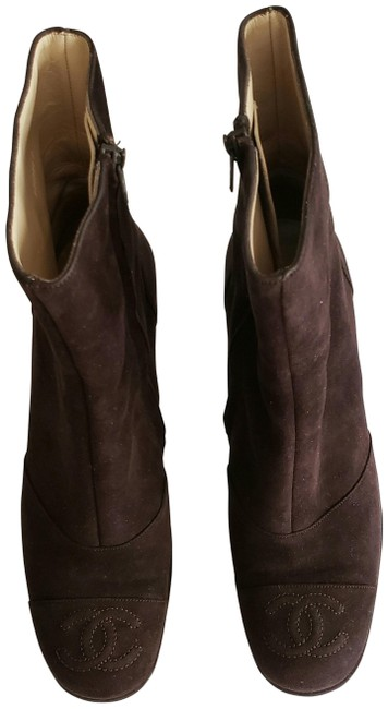 Item - Chocolate Brown Suede Boots/Booties Size EU 35.5 (Approx. US 5.5) Regular (M, B)
