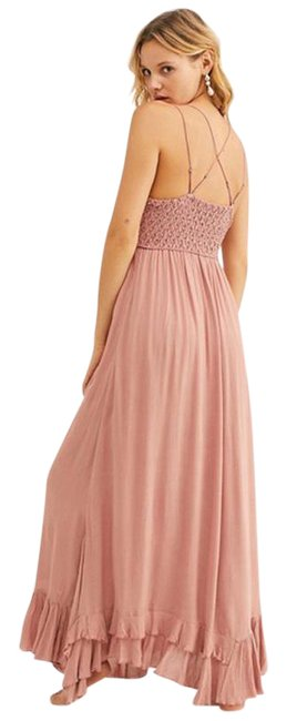 Item - Pink Dusty Rose Adella Long Casual Maxi Dress Size 0 (XS)