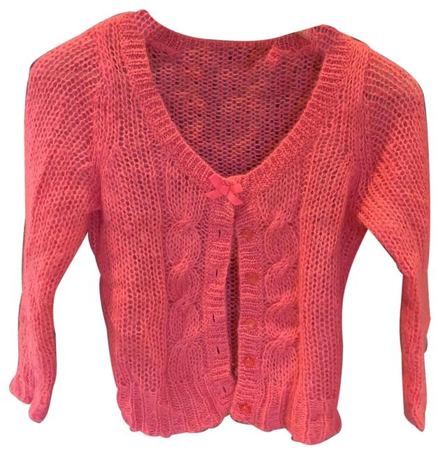 Item - Pink Mohair Cardigan Size 4 (S)