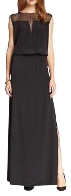 Item - Black Jaden Pico Edge Maxi Long Formal Dress Size 0 (XS)