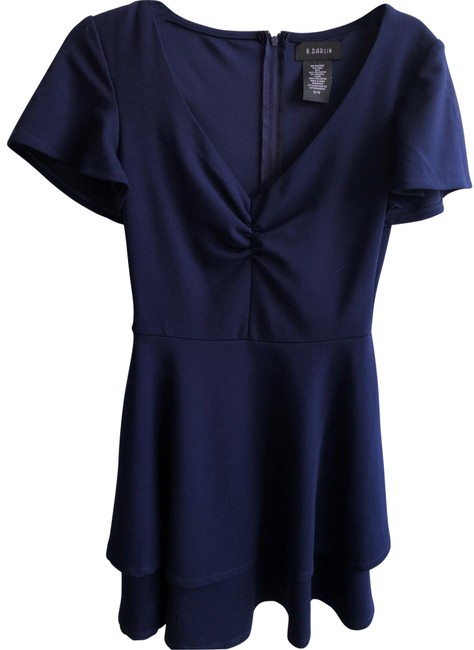 Item - Blue A Short Night Out Dress Size 6 (S)