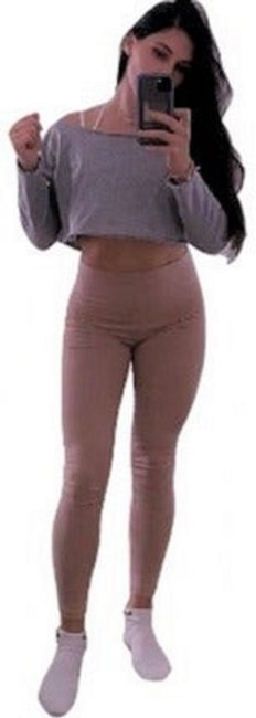 Item - Nude Taupe Medium Leggings Size 10 (M, 31)