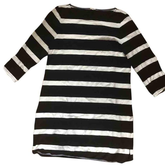 Item - Black and White Rn77388 Short Casual Dress Size 8 (M)