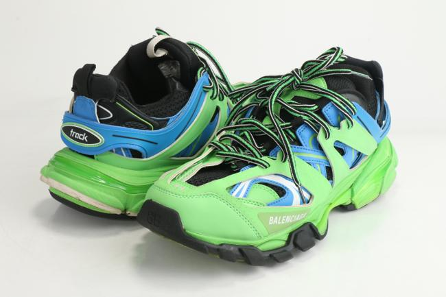 Item - Blue/Green Track.2 Sneakers Shoes