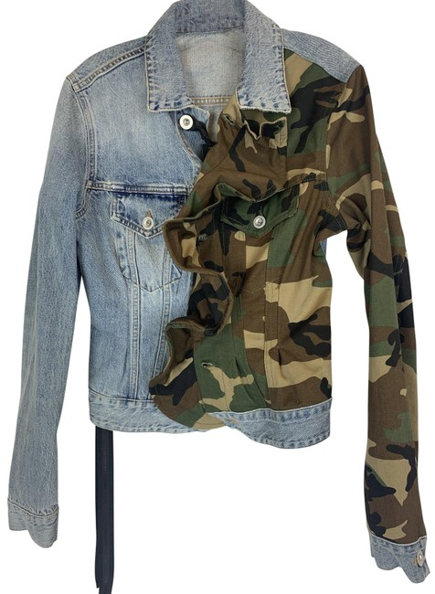 Item - Blue Camo Ben Taverniti Jacket Size 2 (XS)