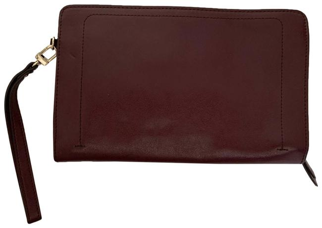 Item - Day To Night Wallet Burgandy Leather Clutch