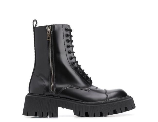 Item - Black Ankle Boots/Booties Size EU 38 (Approx. US 8) Wide (C, D)