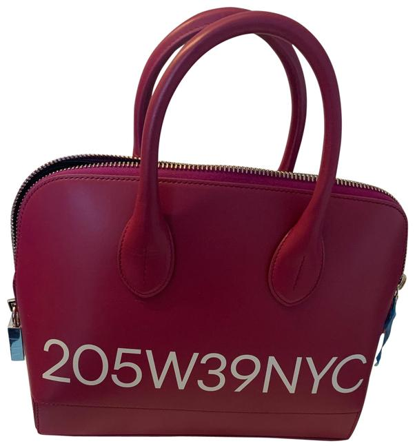 Item - 205w Pink Leather Satchel