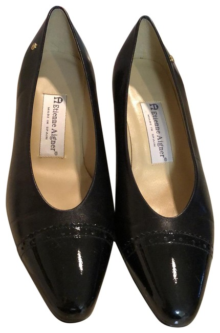 Item - Black Pumps Size US 7 Regular (M, B)