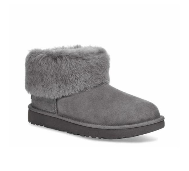 Item - Charcoal Boots/Booties Size US 7 Regular (M, B)