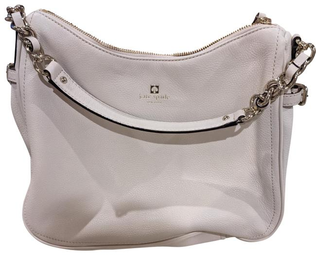 Item - Pine Street Finely Pebble Cream Off White Leather Hobo Bag