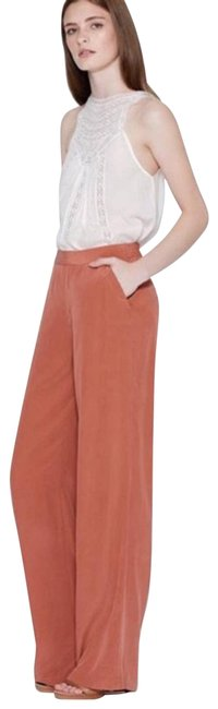 Item - Orange Zinga Silk Wide Leg Pants Size 8 (M, 29, 30)