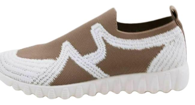 Item - Brown Womens Nadin Slip Smoke White Low Top 8.5-9 Sneakers Size EU 39 (Approx. US 9) Regular (M, B)