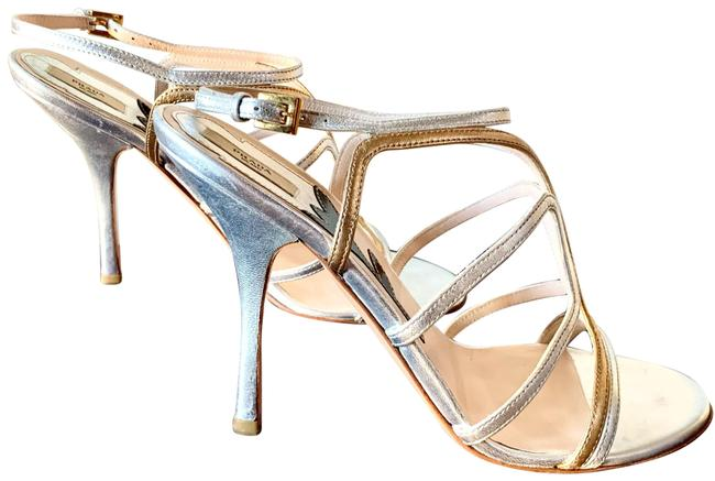 Item - Silver/Gold Calzature Donna Formal Shoes Size US 7.5 Regular (M, B)