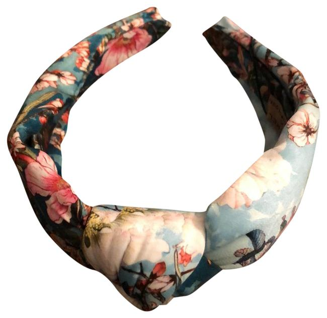 Item - Multicolor Kachel Knotted Floral Haedband Hair Accessory
