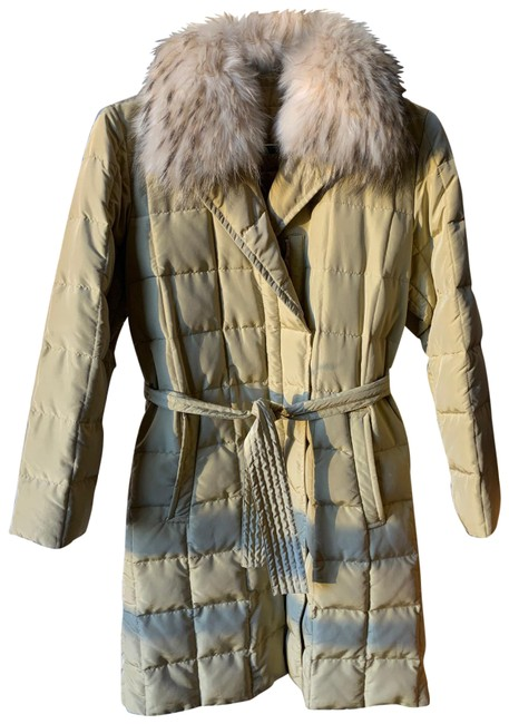 Item - Pale Yellow Weekend Quilted Jacket Coat Size 4 (S)