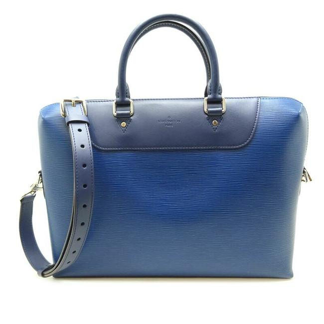 Item - Porto Documan Jules Men's Business M51700 Azul Blue Epi Leather Messenger Bag