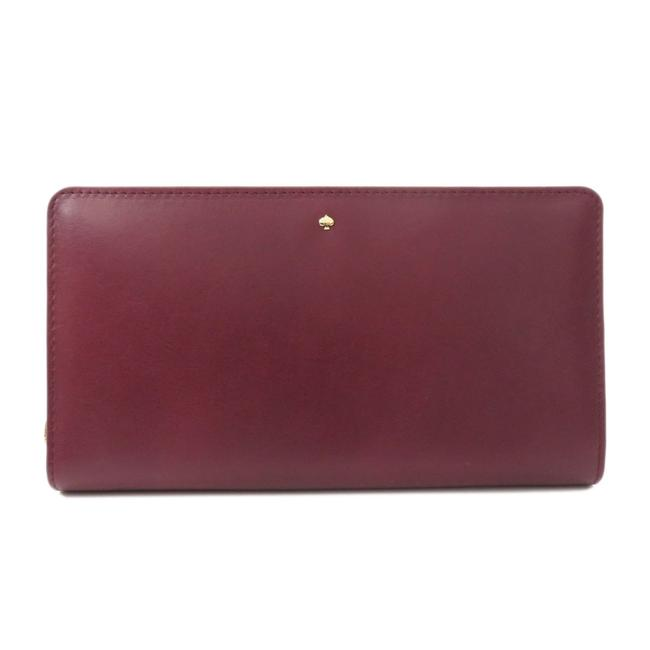 Item - Red Color Logo Purse Leather Ladies Wallet