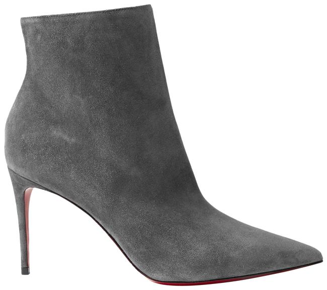 Item - Gray So Kate 85 Suede Ankle Boots/Booties Size EU 37 (Approx. US 7) Regular (M, B)