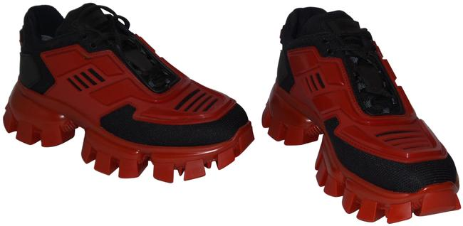 Item - Black and Red Cloudbust Thunder Sneakers Size EU 37 (Approx. US 7) Regular (M, B)