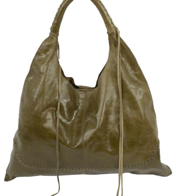 Item - Olive Tote Green Leather  Bag