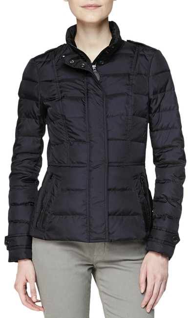 Item - Black XL Dalesbury Quilted Check Zip Down Puffer Coat Jacket Size 16 (XL, Plus 0x)