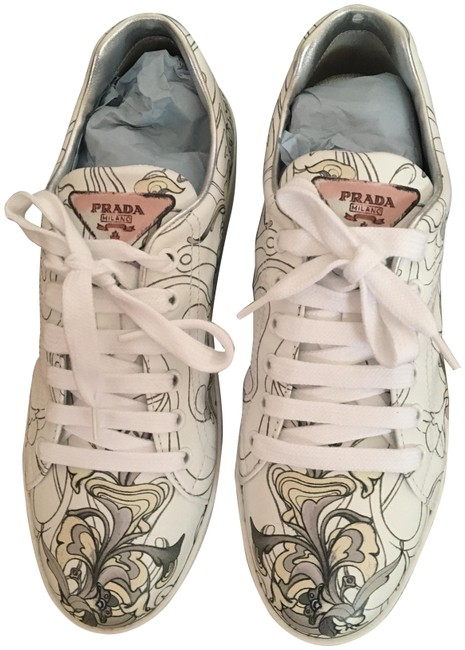 Item - Multi Color Rabbit Leather Sneakers Size EU 40 (Approx. US 10) Regular (M, B)