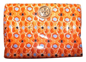 Tory Burch Tory Burch Brigitte Cosmetic Case in Tiger Lily Mosaic(Combo A)/807 Style#41139142