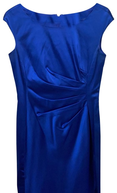 Item - Cobalt Blue Mid-length Cocktail Dress Size 4 (S)