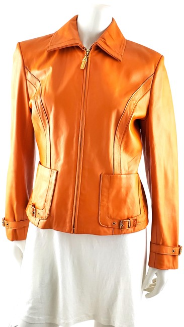 St. John Orange Collection By Marie Gray Jacket Size 6 (S) St. John Orange Collection By Marie Gray Jacket Size 6 (S) Image 1