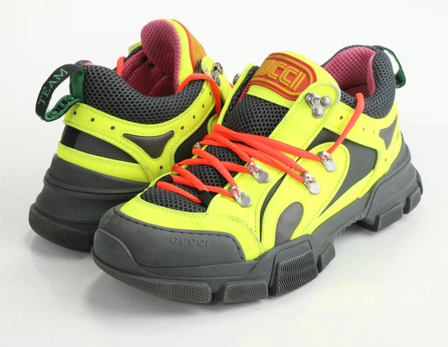 Item - Multicolor Flashtrek Rubber Leather Mesh and Suede Sneakers Shoes