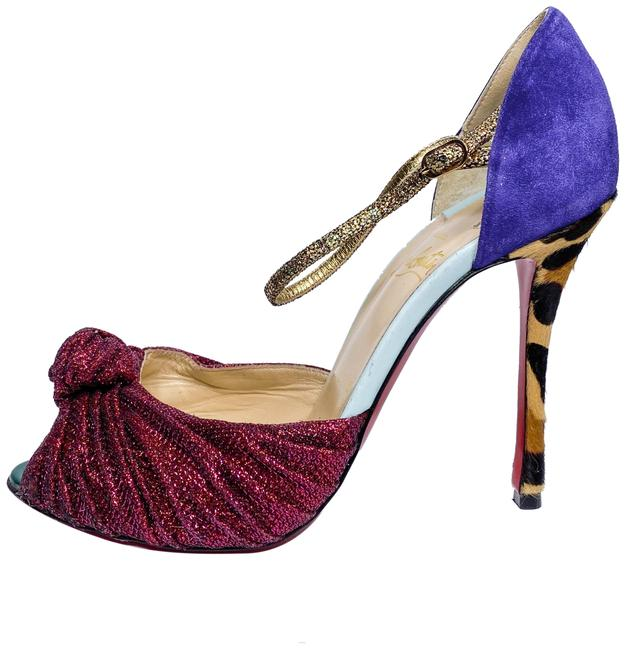 Item - Purple and Pink Marchavekel Pumps Size EU 39 (Approx. US 9) Regular (M, B)