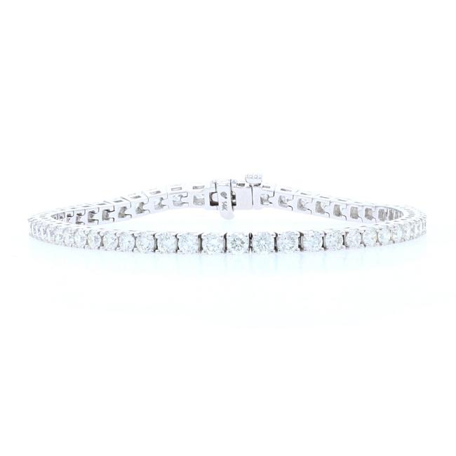 "Wilson Brothers Jewelry White Gold Diamond Tennis 1/2"" - 14k Round Brilliant Bracelet Wilson Brothers Jewelry White Gold Diamond Tennis 1/2"" - 14k Round Brilliant Bracelet Image 1"