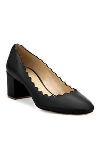Item - Black Lauren Leather Pumps