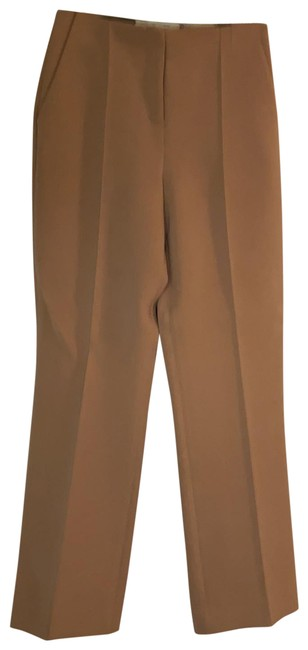 Item - Camel Pin Tuck Pleated Pants Size 2 (XS, 26)