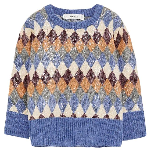 Item - Special Edition Sequin Knit As Seen On Tamera Mowry Multicolor Sweater
