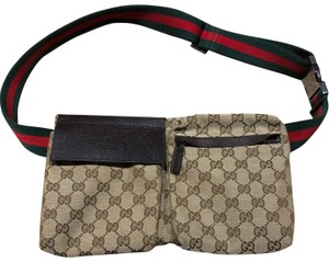 Gucci brown leather Clutch
