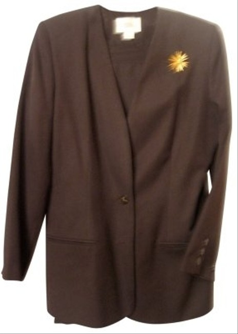 Karen Scott BROWN BUSINESS SUIT