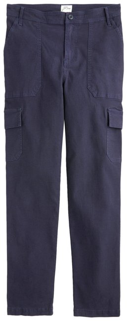 J.Crew Navy Blue The New Straight Leg Pants Size 6 (S, 28) J.Crew Navy Blue The New Straight Leg Pants Size 6 (S, 28) Image 1