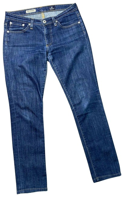 Item - Blue Medium Wash Premiere Skinny R Straight Leg Jeans Size 26 (2, XS)