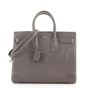 Item - Sac de Jour Nm Small Gray Leather Tote