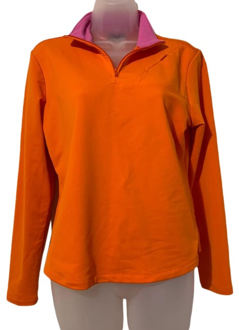 Item - Orange Quarter Activewear Top Size 8 (M)