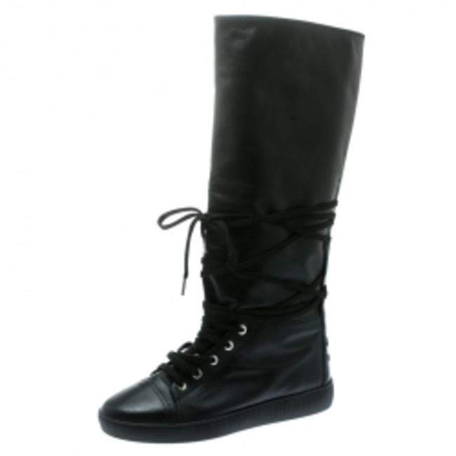 Item - Black Knee Length Boots/Booties Size EU 39 (Approx. US 9) Narrow (Aa, N)