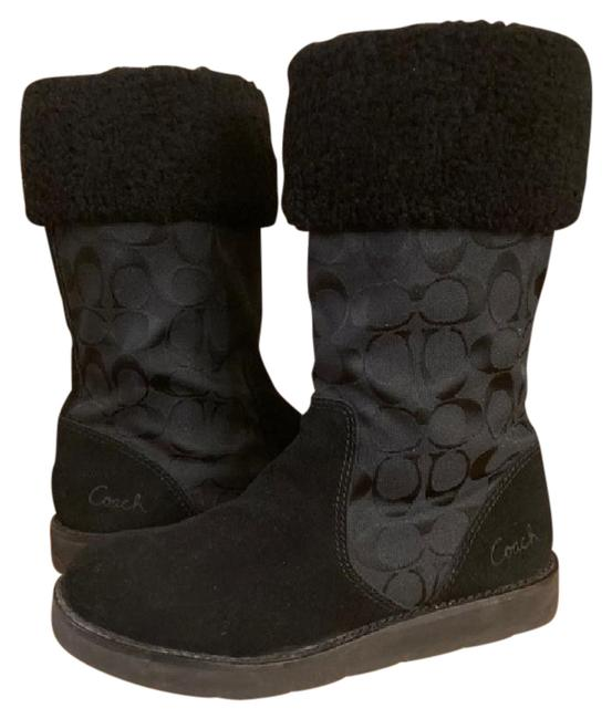 Item - Black 'kally' Signature Cold Weather Boots/Booties Size US 7.5 Regular (M, B)