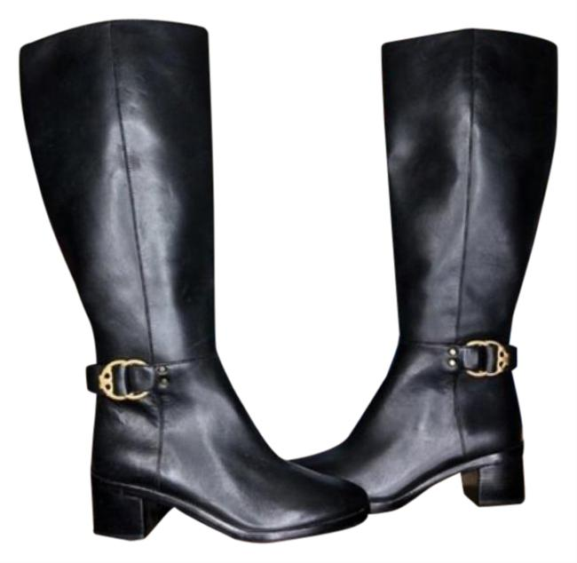 Item - Black Gold Marsden Riding To The Knee Hardware Boots/Booties Size US 6 Regular (M, B)