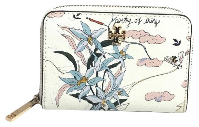 Item - Emerson Zip Coin Case Poetry Of Things Multicolor Leather Wristlet